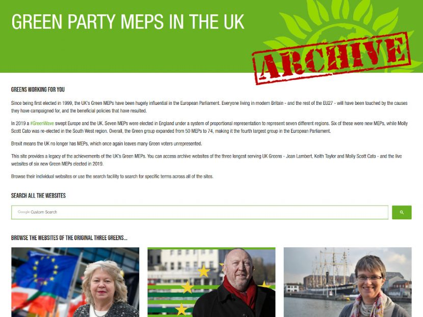 Green Party MEPs