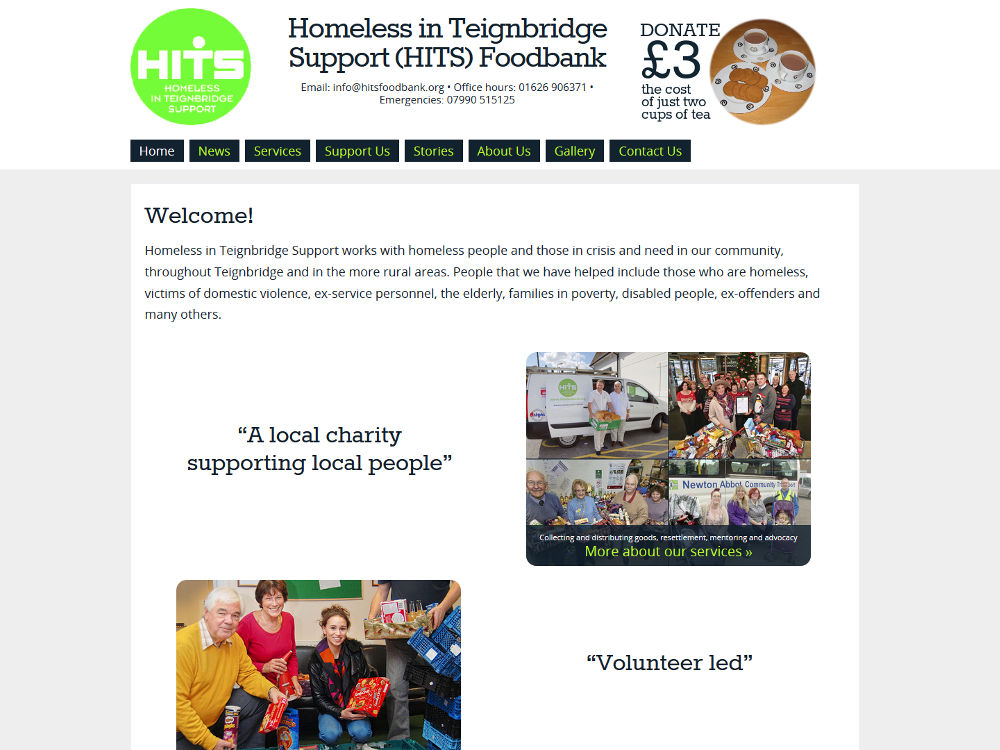 Homeless in Teignbridge Support