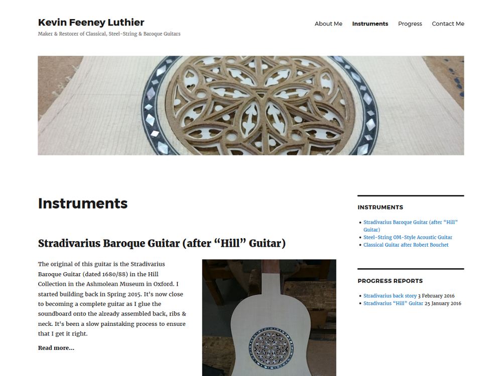 Kevin Feeney Luthier